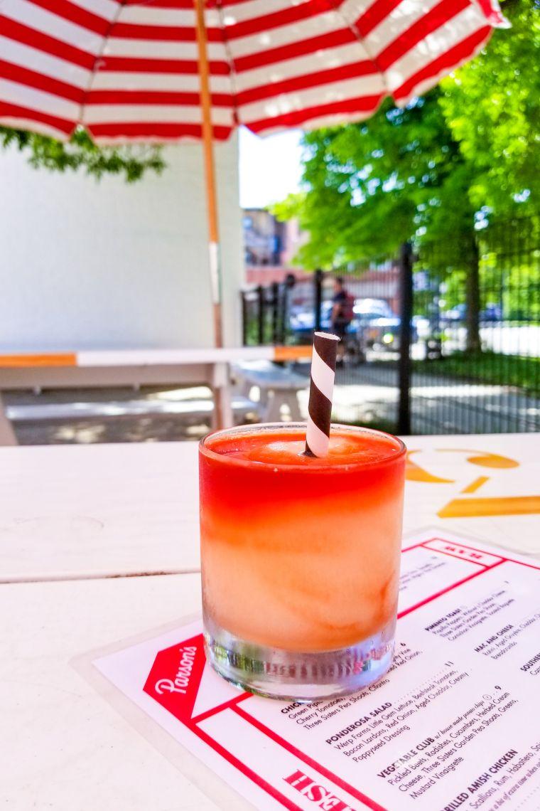 Parson Chicken + Fish Restaurant Logan Square Chicago Illinois USA