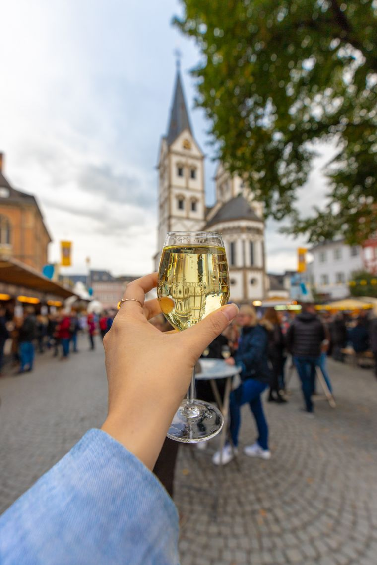 Wine Festival Mosel Valley Boppard Germany