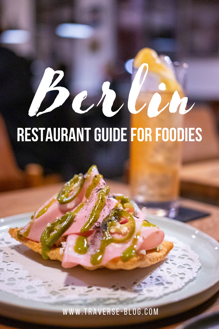 Berlin Food + Restaurant Guide Pinterest Image