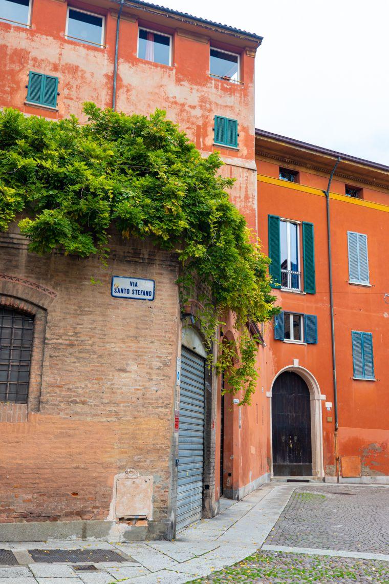 Piazza Scenery Bologna Italy